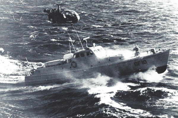 Mauric started to work on military vessels with the shipyard Les chantiers de L'esterel. He designed numerous fast patrol boats and naval vessels based on his original hull form inspired by high-speed torpedo boats from WWII and vessels designed by Peter Du Cane or those from the German Shipyard Lürssen.