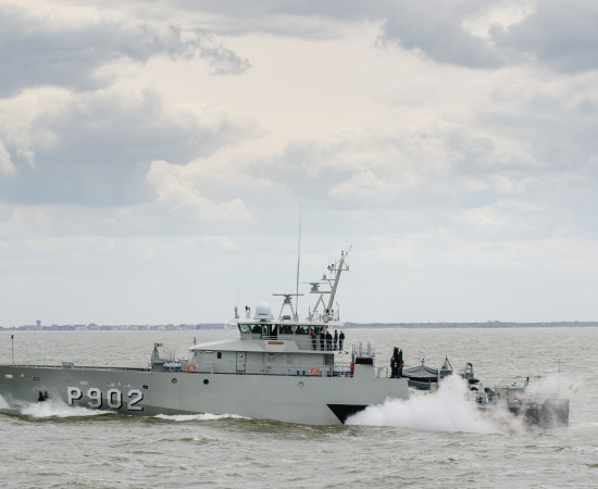 A second silver arrow for Belgian Navy