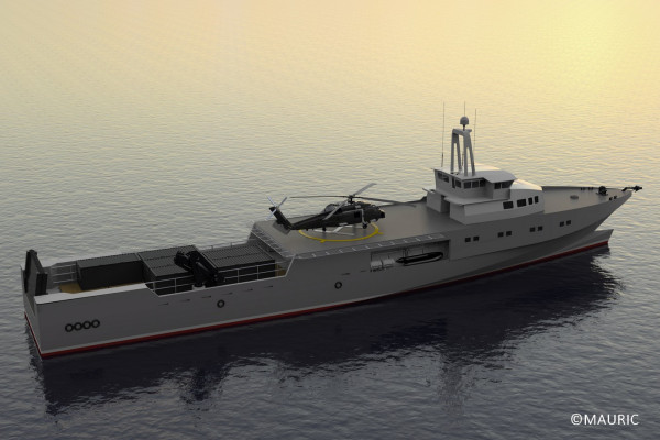 Fast Combat Support Vessel 540