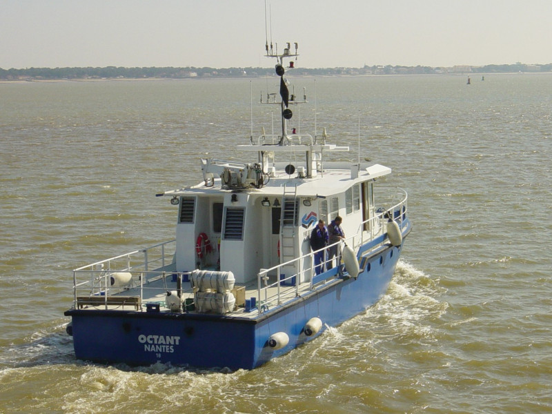 Hydrographic Boat 190 - 19m strong and reliable survey boat   MAURIC