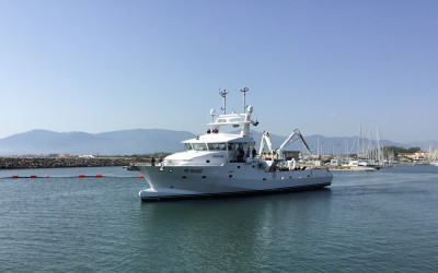 Chrisdéric V: the latest Mediterranean tuna seiner