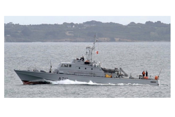 Les Chantiers de L'esterel deliver two fast patrol boats (32m – 32kts) to Hellenic Navy: Athos and Aramis.