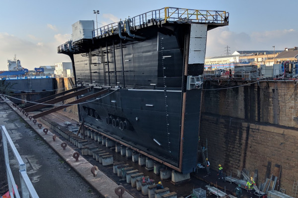 Floating Drydock and Gate