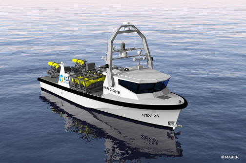 INSPECTOR 125 the new unsinkable USV from sea proven platform