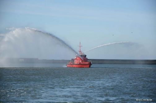 The second Fireboat of Marseille has been delivered!