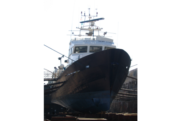 MAURIC designs an innovative 36m tuna seiner, PROVENCE COTE D'AZUR, capable to reach 15kts thanks to its double propeller configuration with optimised propellers. This design is the starting point of the development by MAURIC of the most innovative range of Mediterranean tuna seiner vessels.