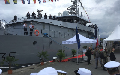 Launching ceremony of La Combattante, the third PAG!