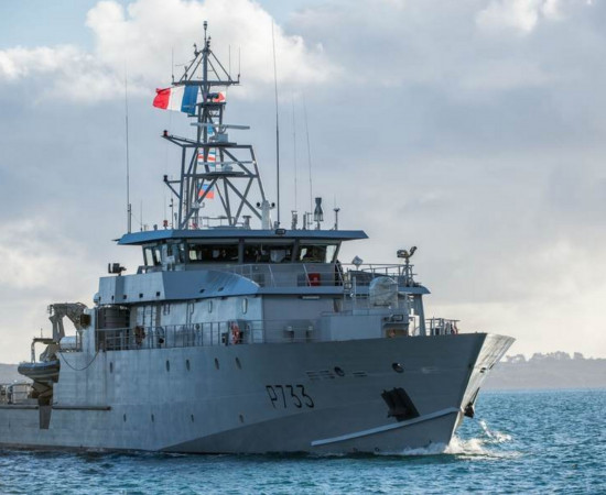 MAURIC 61m Light Patrol Craft (PLG) for French Navy in Guyana